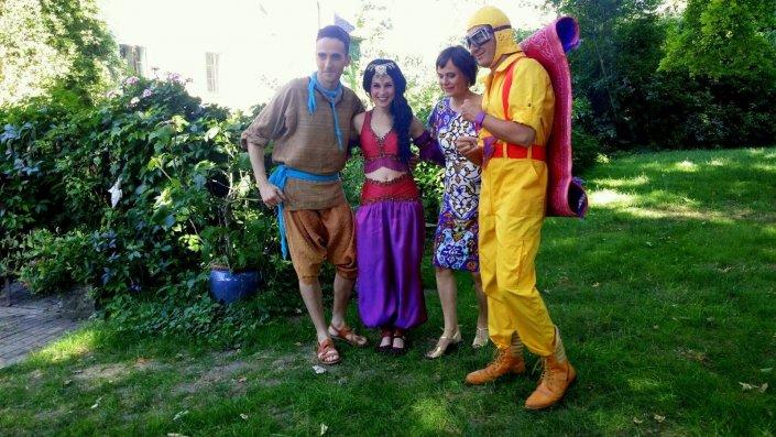 Nina Blum Im Schwangerschaftskleid, Märchensommer 2016, Aladin
