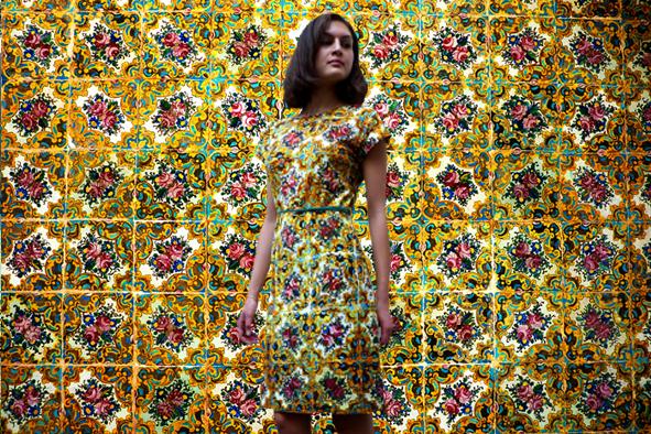 """Kleid """"Kunst ist Liebe"""" - ein Kleid für besondere Anlässe"""