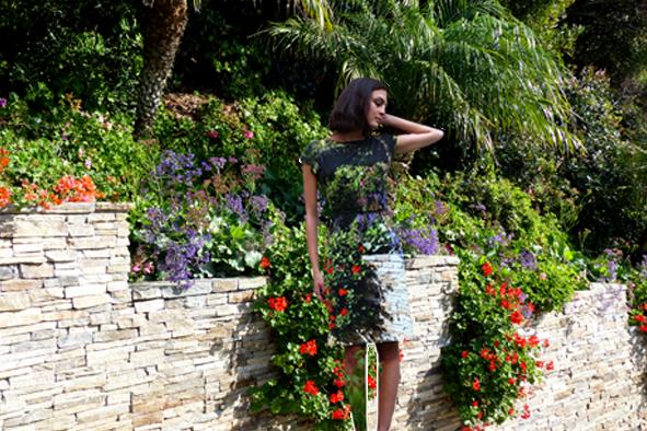 """Kleid """"Worte der Natur"""" - ein Kleid für besondere Anlässe"""