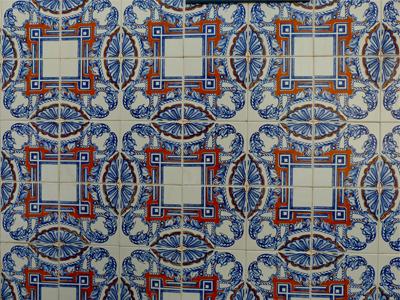 "Kachelwand ""Azulejos"" in Lissabon, fabrari"