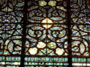 Glasfenster Golestan Palast Teheran