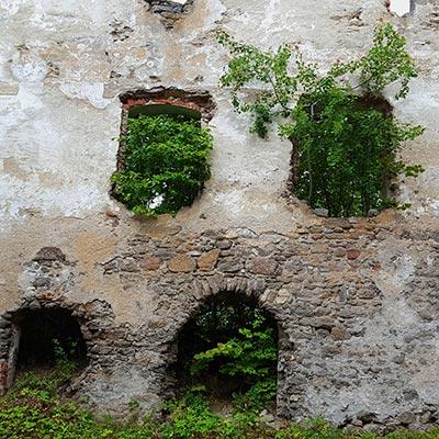 Foto ©fabrari: Burgruine Lichtenfels, bei Ottenstein, Waldviertel