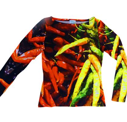 Shirt Chilli - langarm