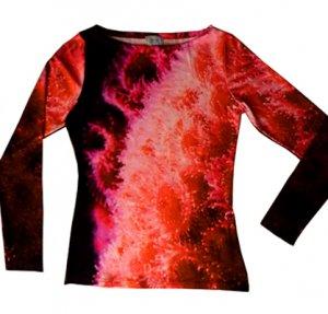 Shirt Erdbeeranemonen