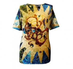 Shirt Gaudi Guell - langarm