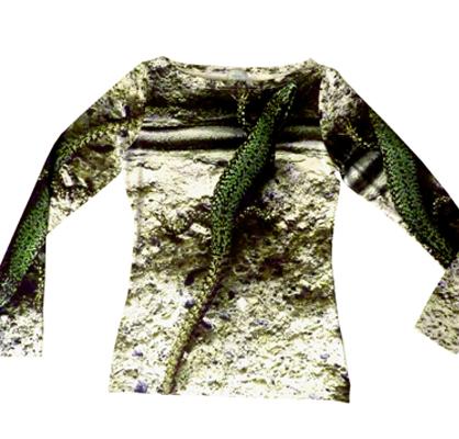 """Designer Shirt """"Gecko"""""""