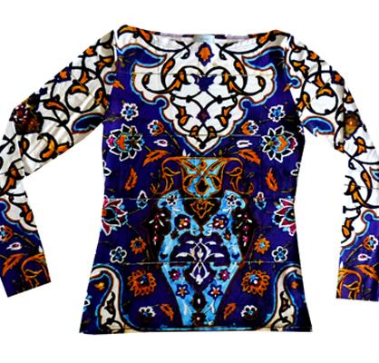 Shirt GolestanKacheln - langarm