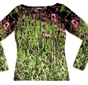 Shirt Lavendel - langarm