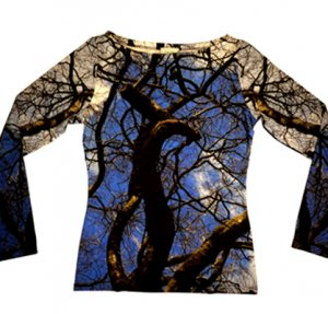 Shirt Verzweigungen - Fotomotiv