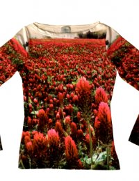 Fotoprint Shirt Wiese