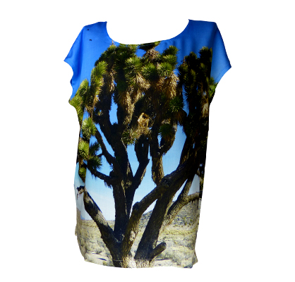 Viskose Shirt JoshuaTree Fabrari
