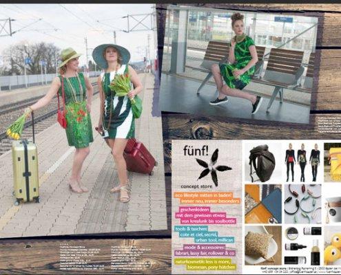 """Fotoshooting für """"Baden Passion"""" 5/2016"""