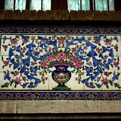 Kacheln Golestan Palast