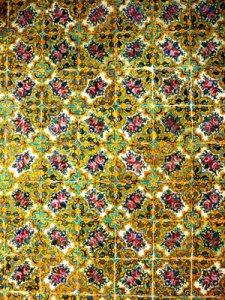 Foto: Kachelwand Golestanpalast Teheran