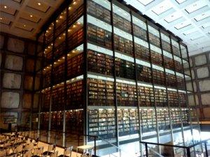 Foto von der Bibliothek der Yale University