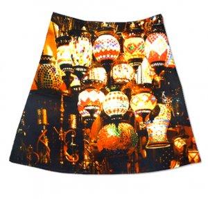 Rock mit bunten Lampen, Bazaar Istanbul