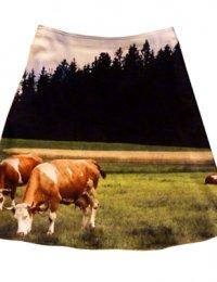Fotoprint Rock mit Kühen