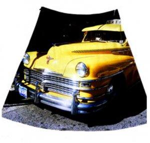Rock gelbes Taxi