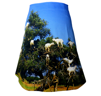 Fotoprint Rock Arganbaum mit Ziegen, Marrakesch