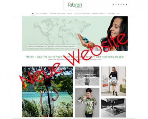 Ankündung Neue Website Von Fabrari