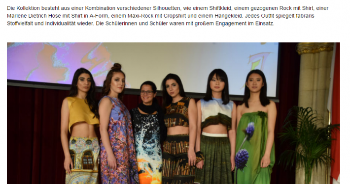 Fabrari Trifft Modeschule Siebeneichegasse