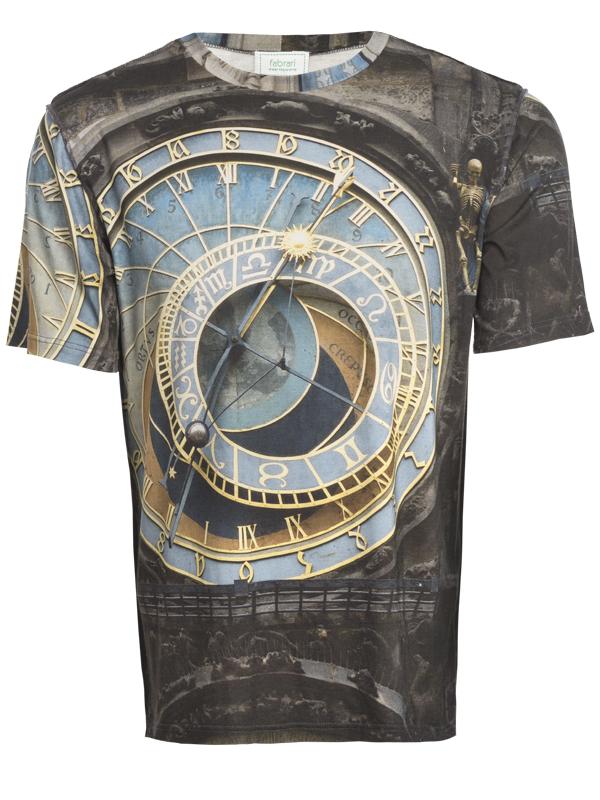 Herren Shirt Prager Uhr