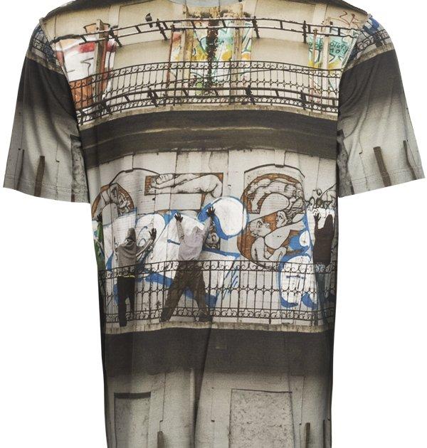 Herren Shirt Graffitti