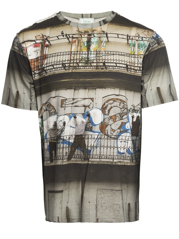 Graff T Shirt Kurzarm Short Sleeves Hemden & T-Shirts