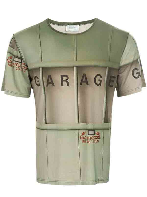 Herren T-Shirt Garage kurzarm