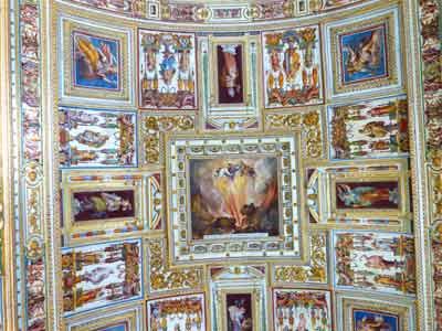 Deckenfresko Museum Rom