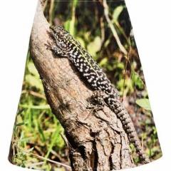 """ausgestellter Rock """"Gecko"""""""