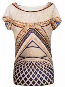 T-Shirt mit Deckenfresko, Rom