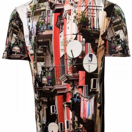 Herren Shirt Napoli, fabrari
