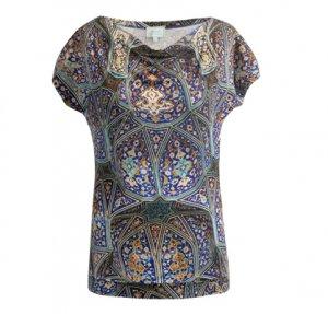Shirt mit Kachelmotiv aus Schiraz
